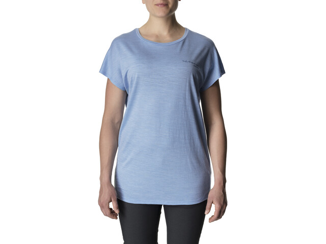 Houdini Activist Message Tee Damen boost blue